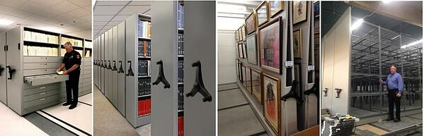 Mobile-shelving-system-various-uses