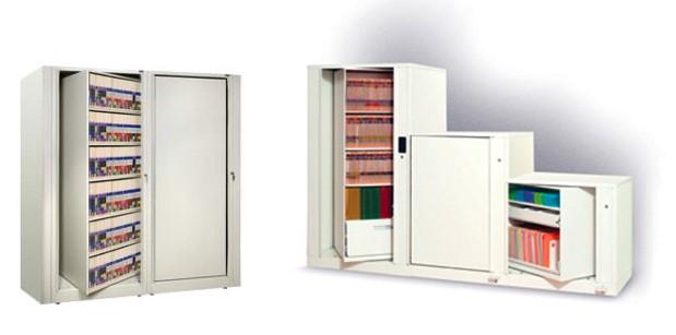 Rotary Storage Cabinet duo