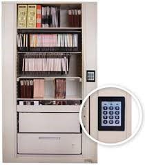 Rotary Cabinet with keypad