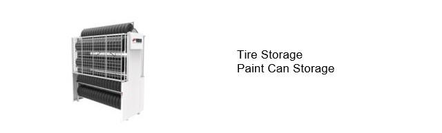 Vertical Tire Storage