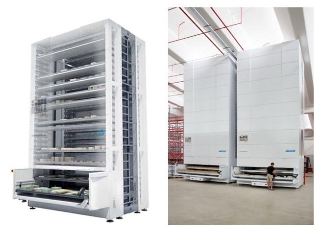 Vertical Lift Module Duo-cutaway