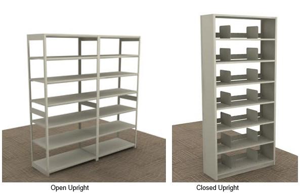open closed upright shelving duo_Dallas