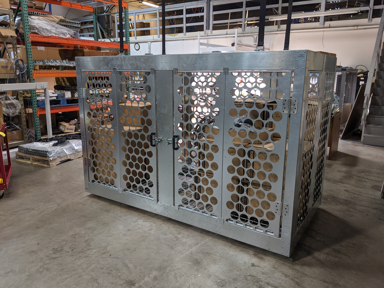 Overhead Storage Cage 4x8x5
