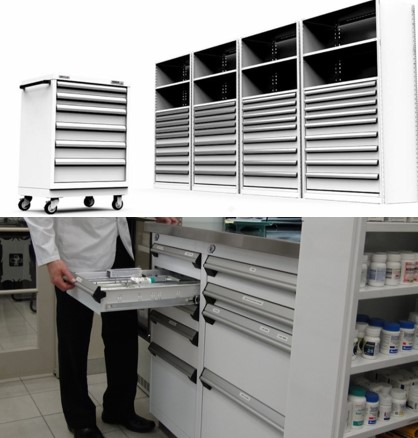 Modular Drawers-medical