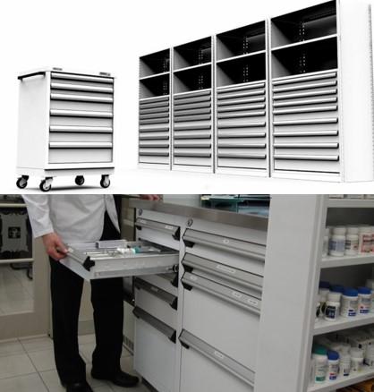 Modular Drawers-medical