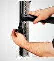 Freestanding Post accessory hook