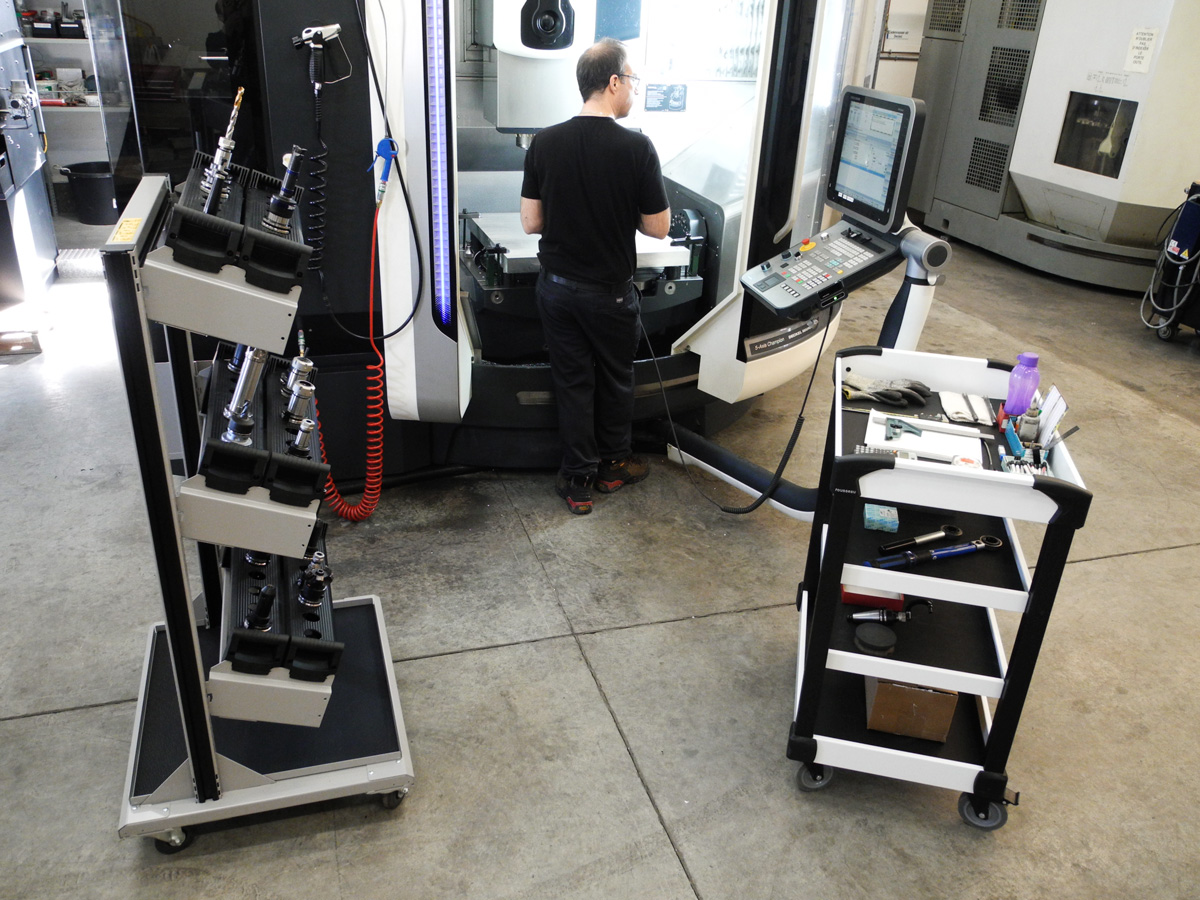 Freestanding and Mobile Tool Carts