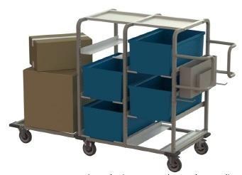Multi-pick cart