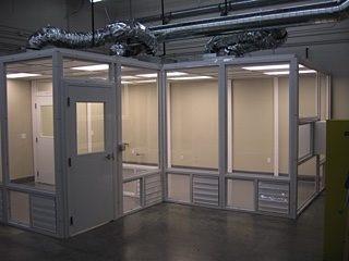 PanelBuilt-Clean room