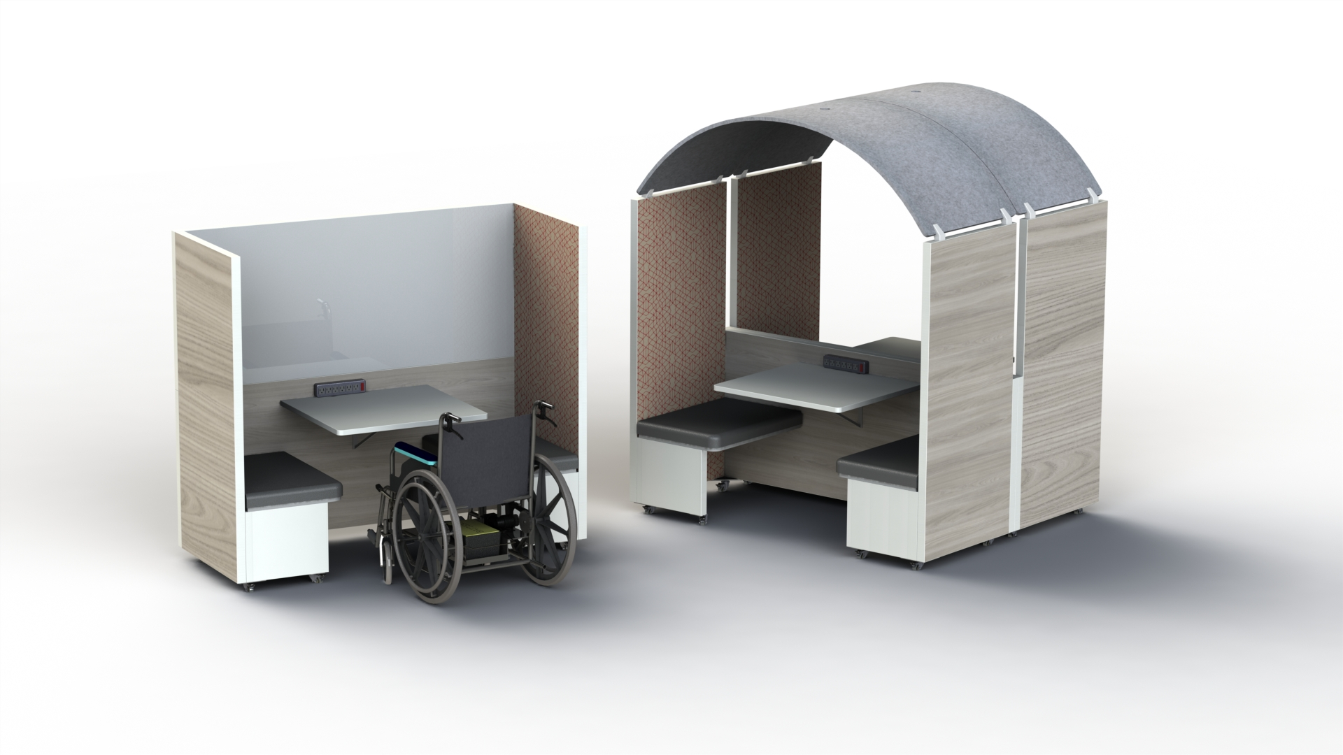 Swiftspace Dos Family-Mobile Meeting Room