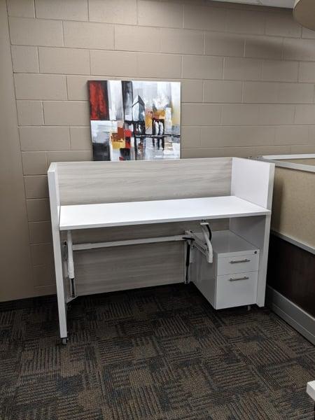 Height Adj Desk sgle