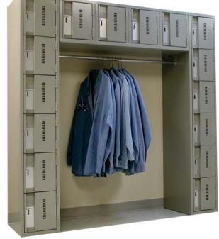 Perfix mini-day use-lockers