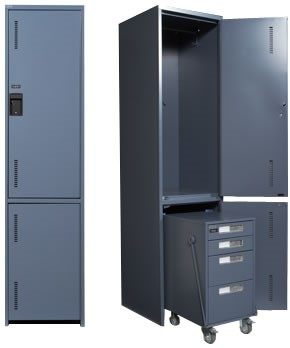 metal locker-education