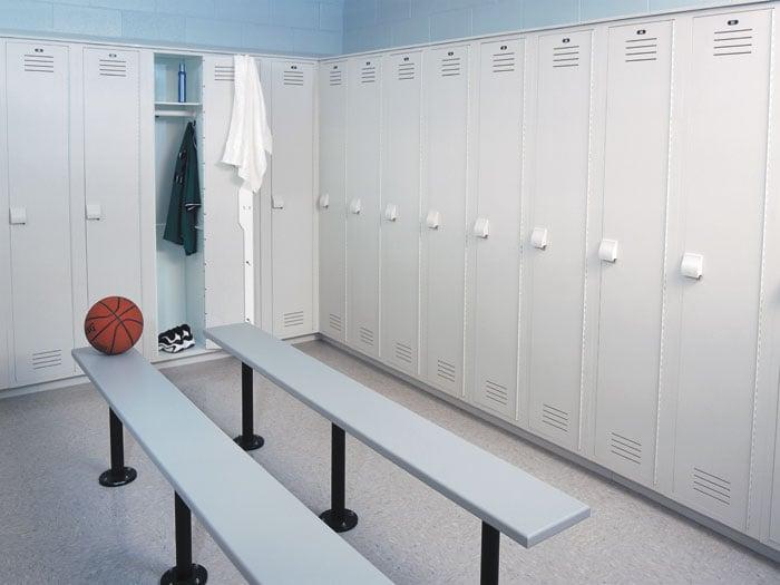 Plastic Lockers_locker room