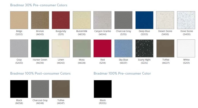 Bradley-locker colors