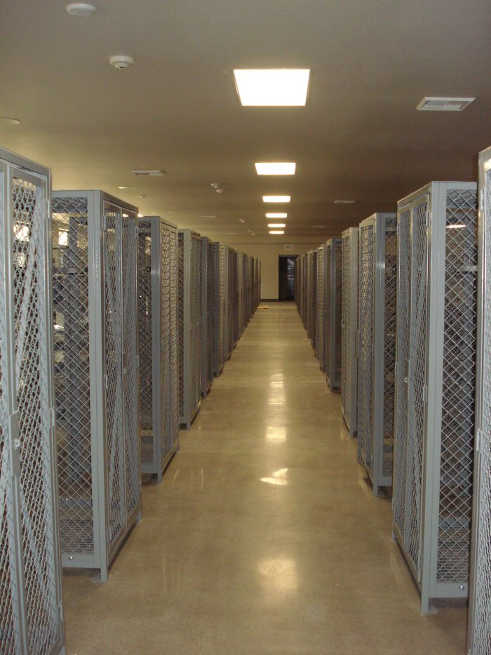 Wire Mesh Lockers-Camp Pendleton