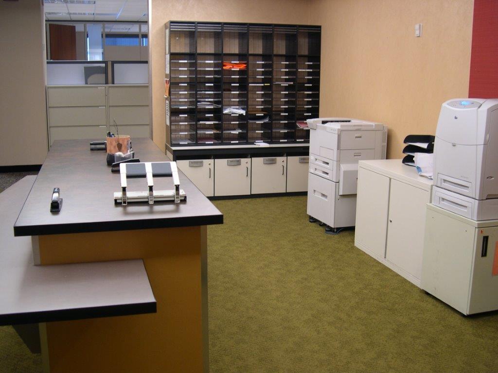 Mailroom Work Center
