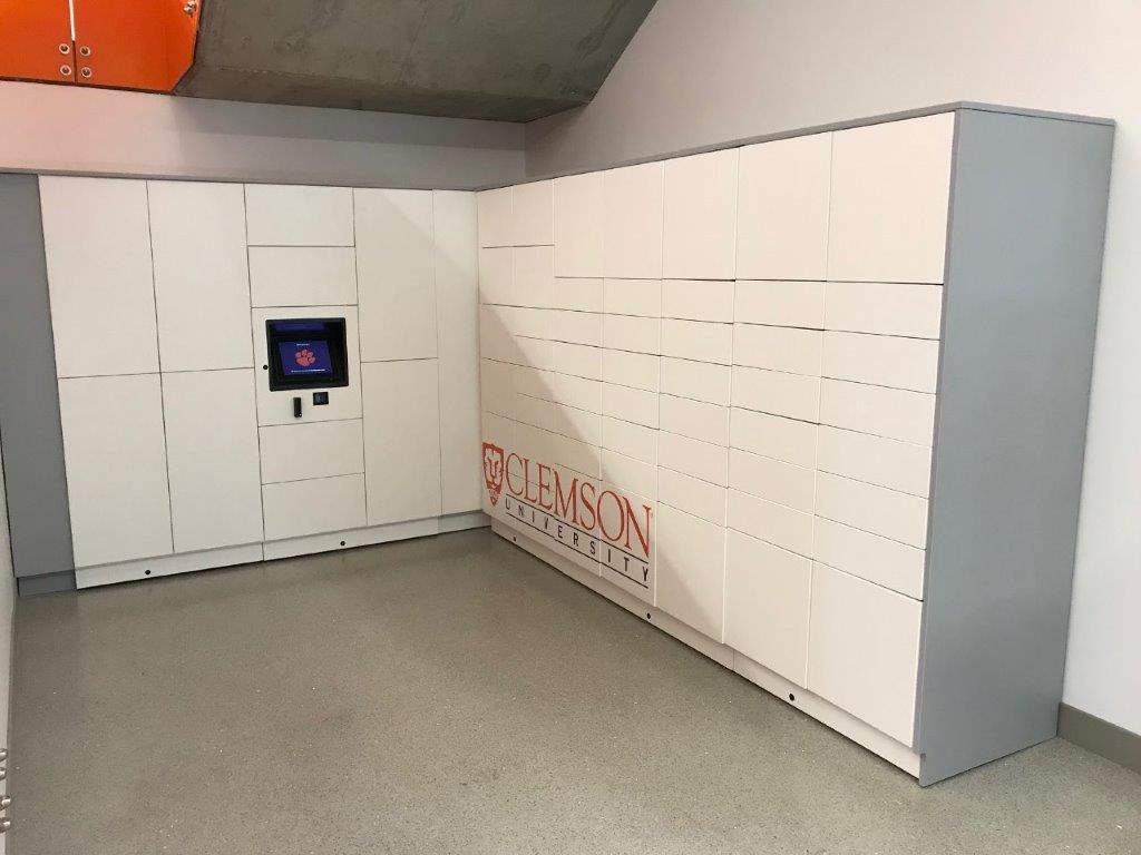 IOPC-Smart Parcel Lockers-Clemson