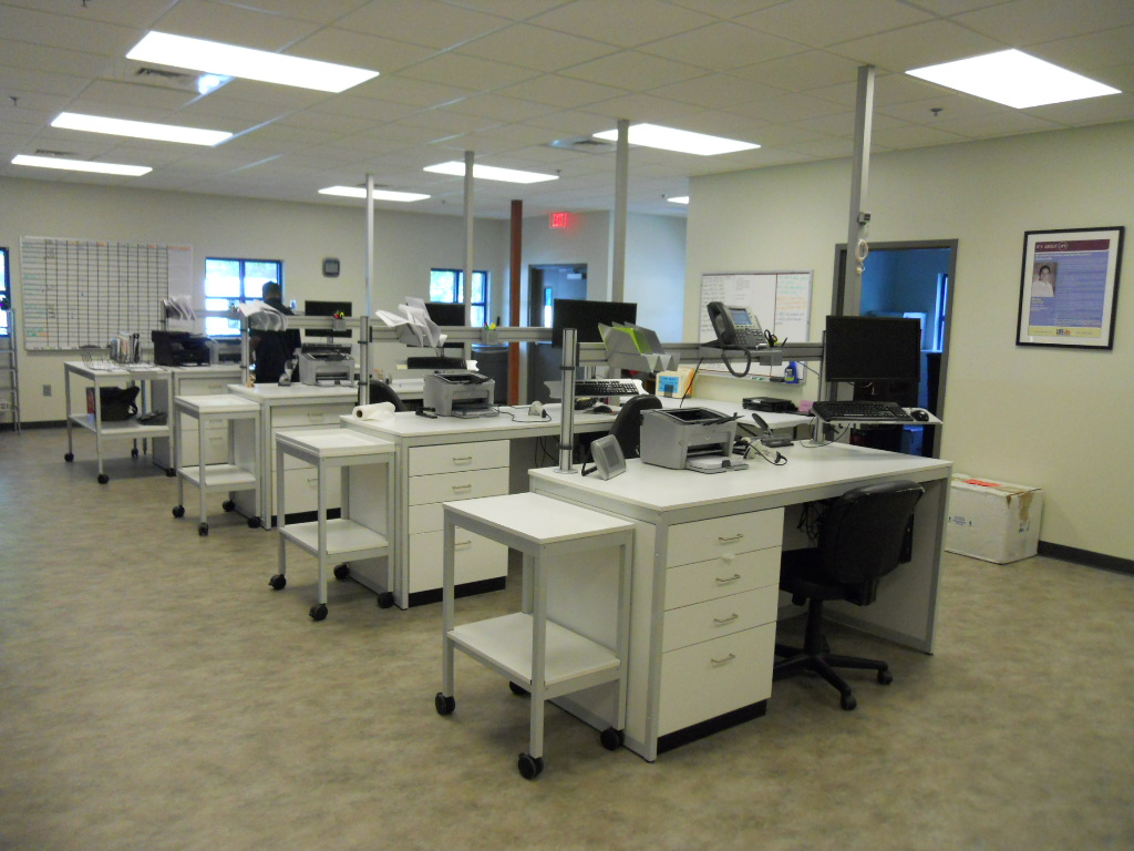 Modular Millwork workstations