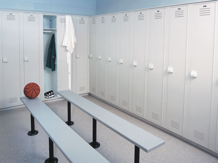 Plastic Lockers-gym-athletic-storage