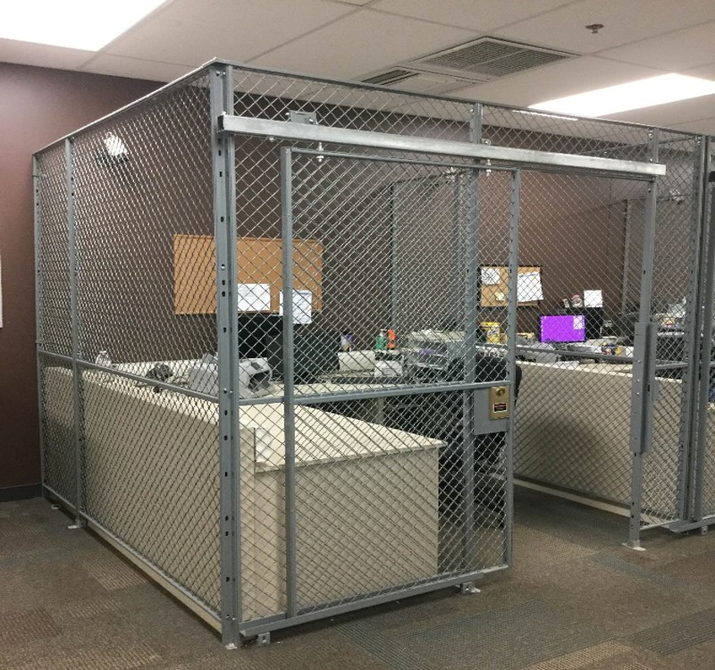 Wire Cage-Cash Vault Counting Center