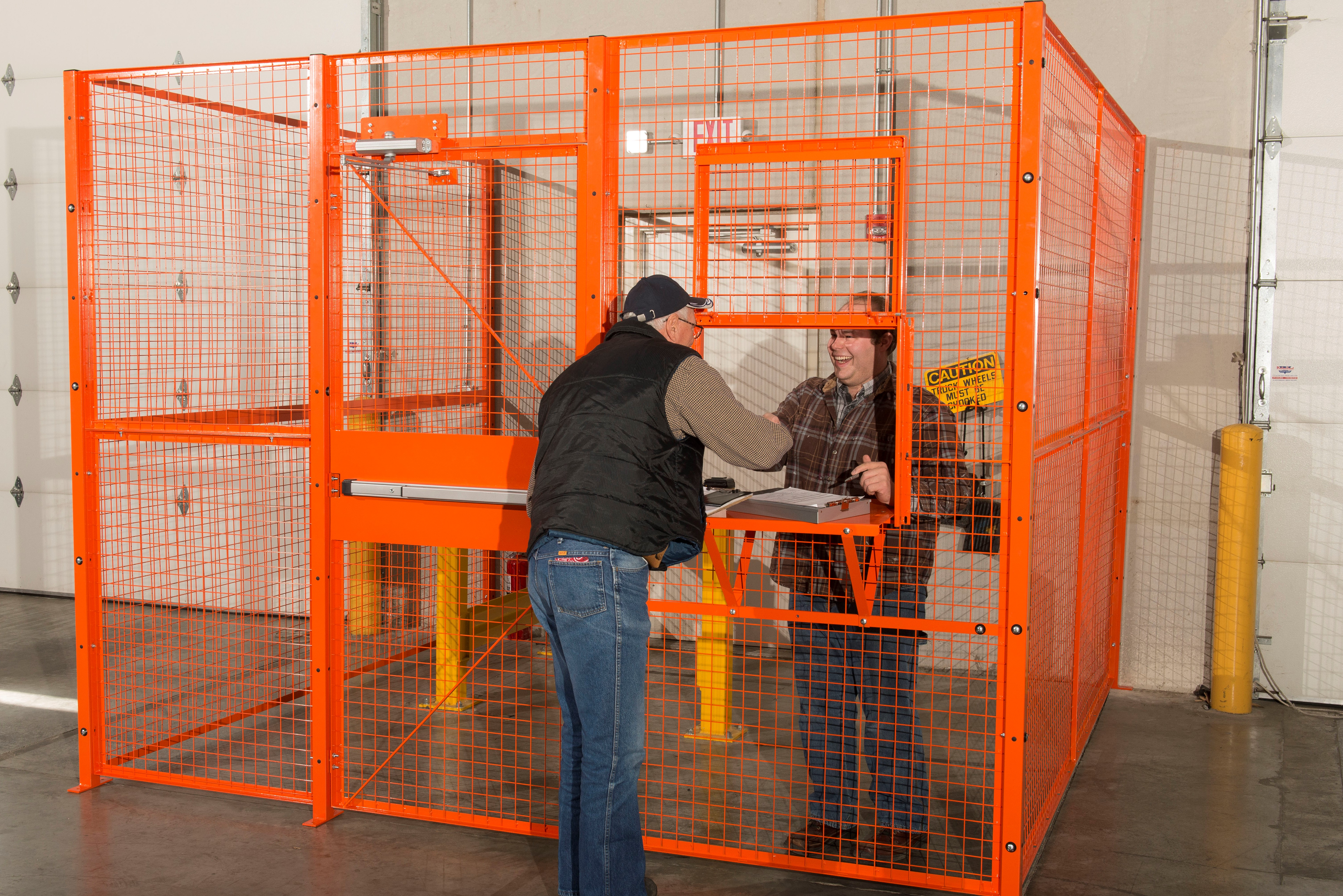 Drivers Cage