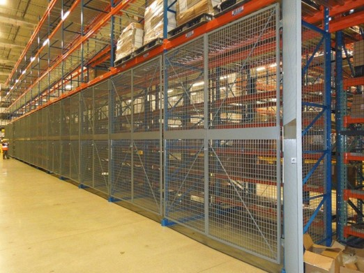 Wire Rack Enclosure