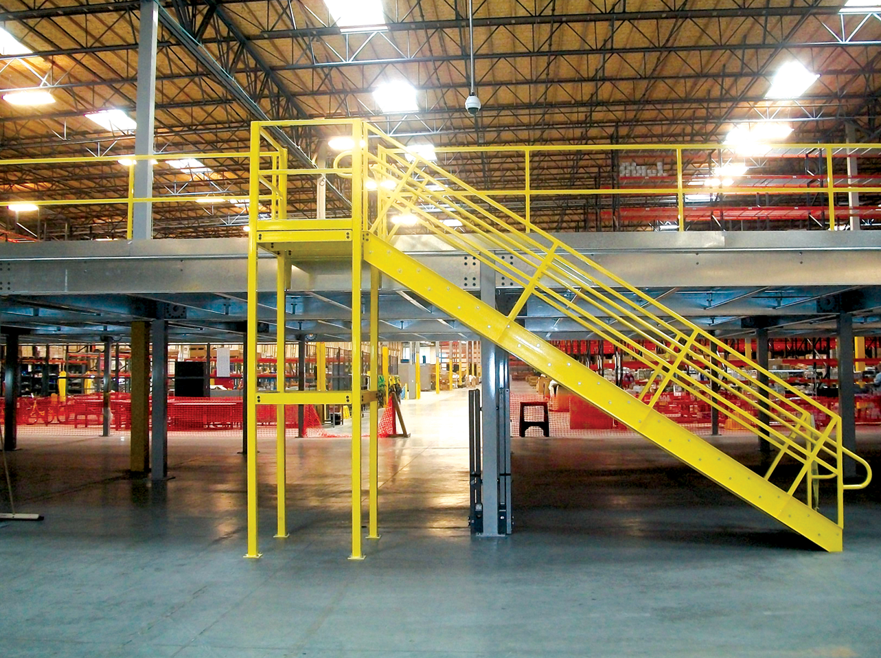 WPSS-Mezzannine with Stairs