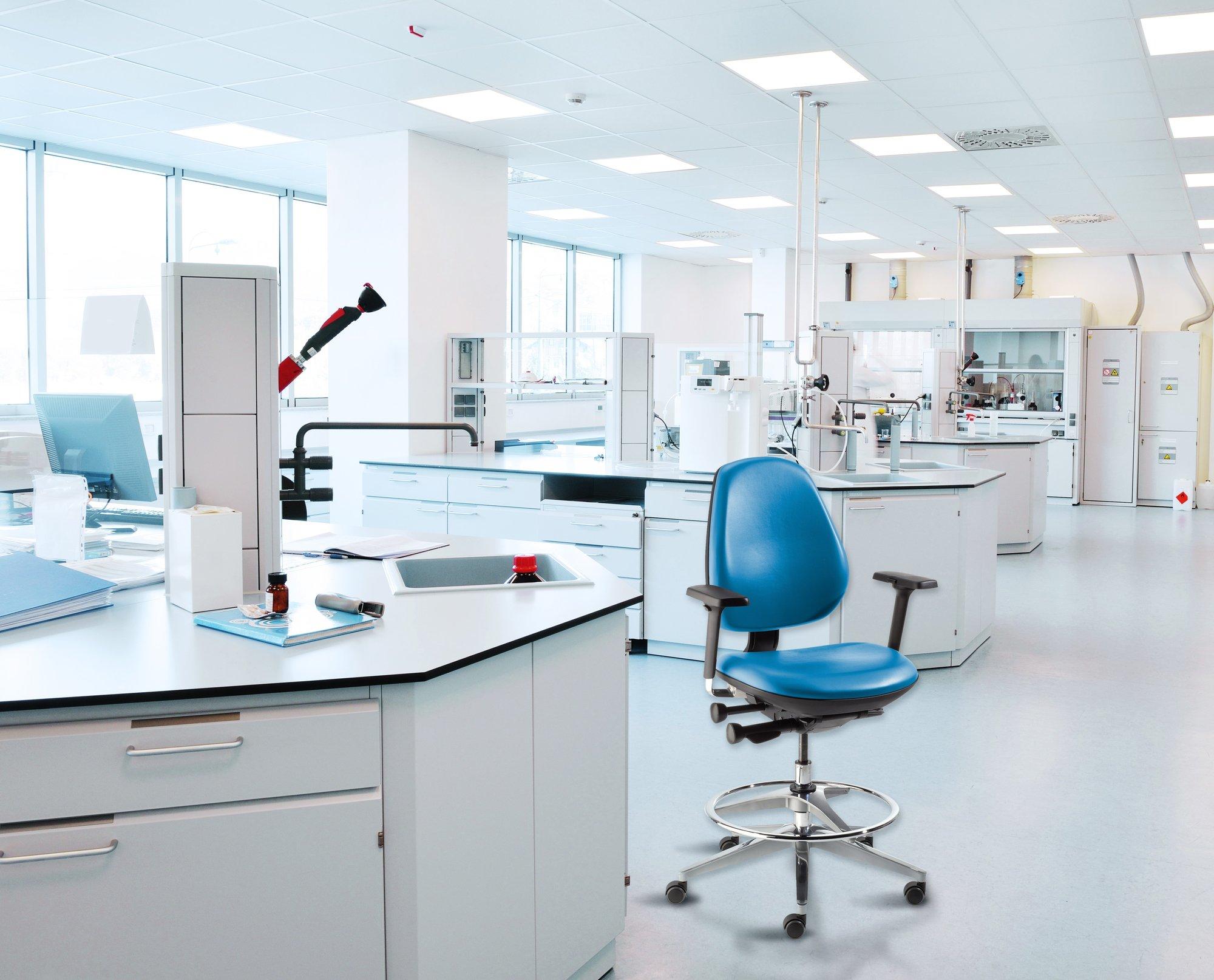 BioFit MVMT Pro Seating Blue Lab