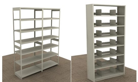 Divider shelving2-open closed