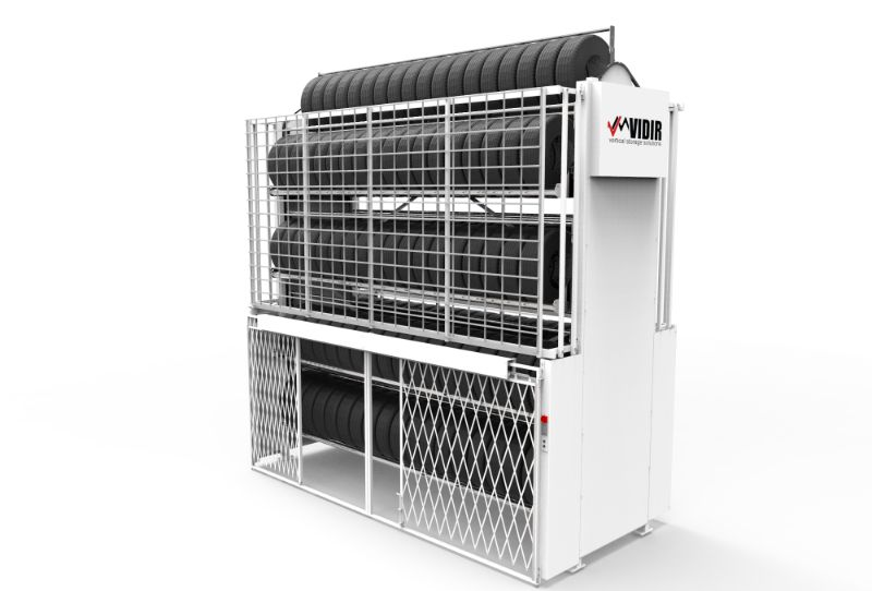 Tire Carousel Horizontal Security Gate-Vidir-compressed