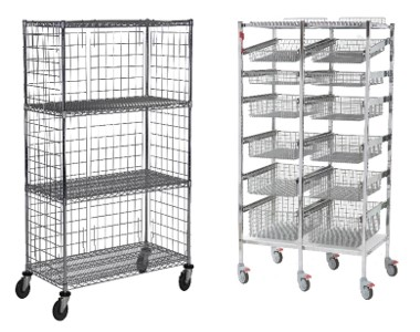 Wire Shelving-Carts2