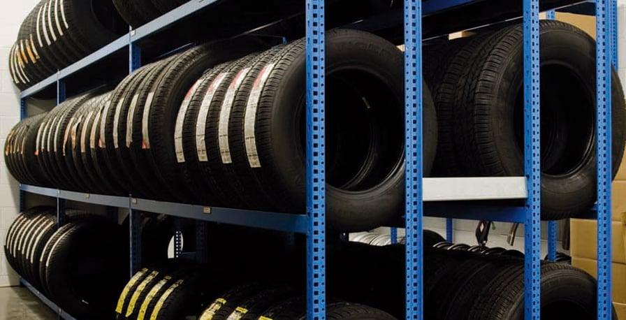 Rousseau-Tire Storage Racks