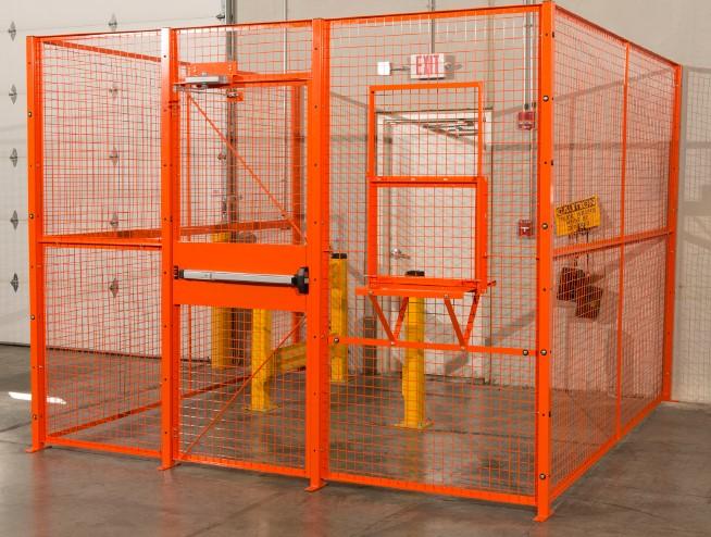 Wire Driver Cage-orange