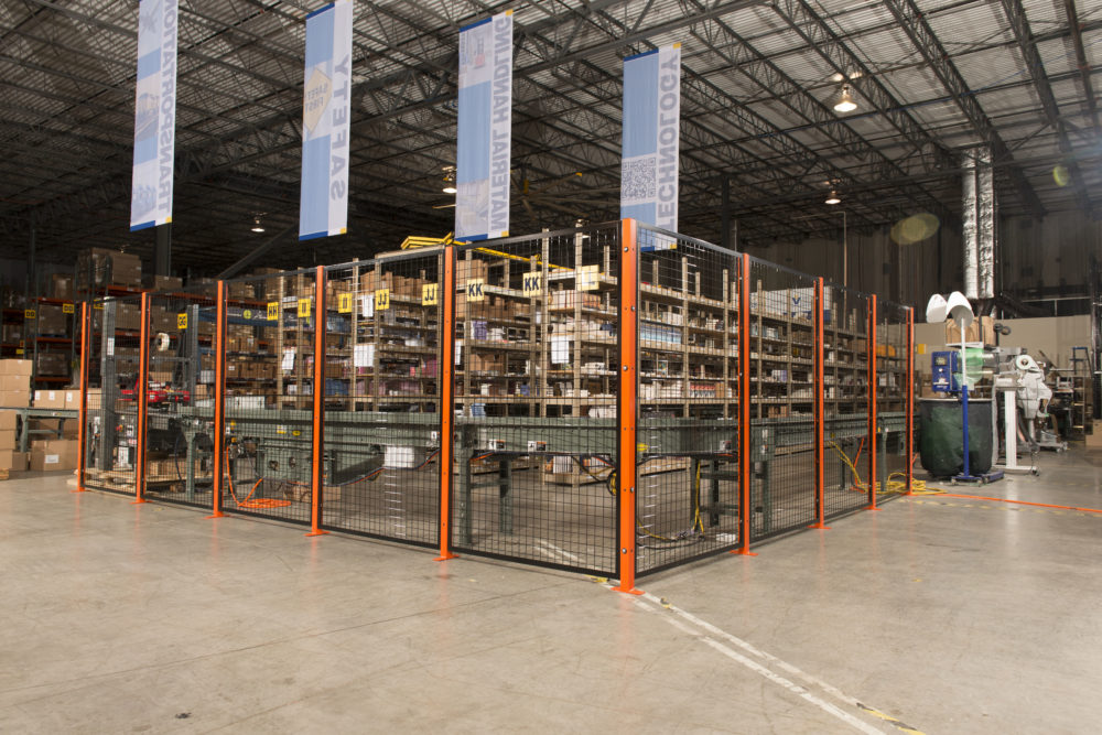 Storage Rack Wire Cage Guarding