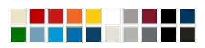 Rousseau Standard Colors