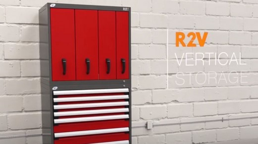 Video-Rousseau R2V Vertical Cabinets
