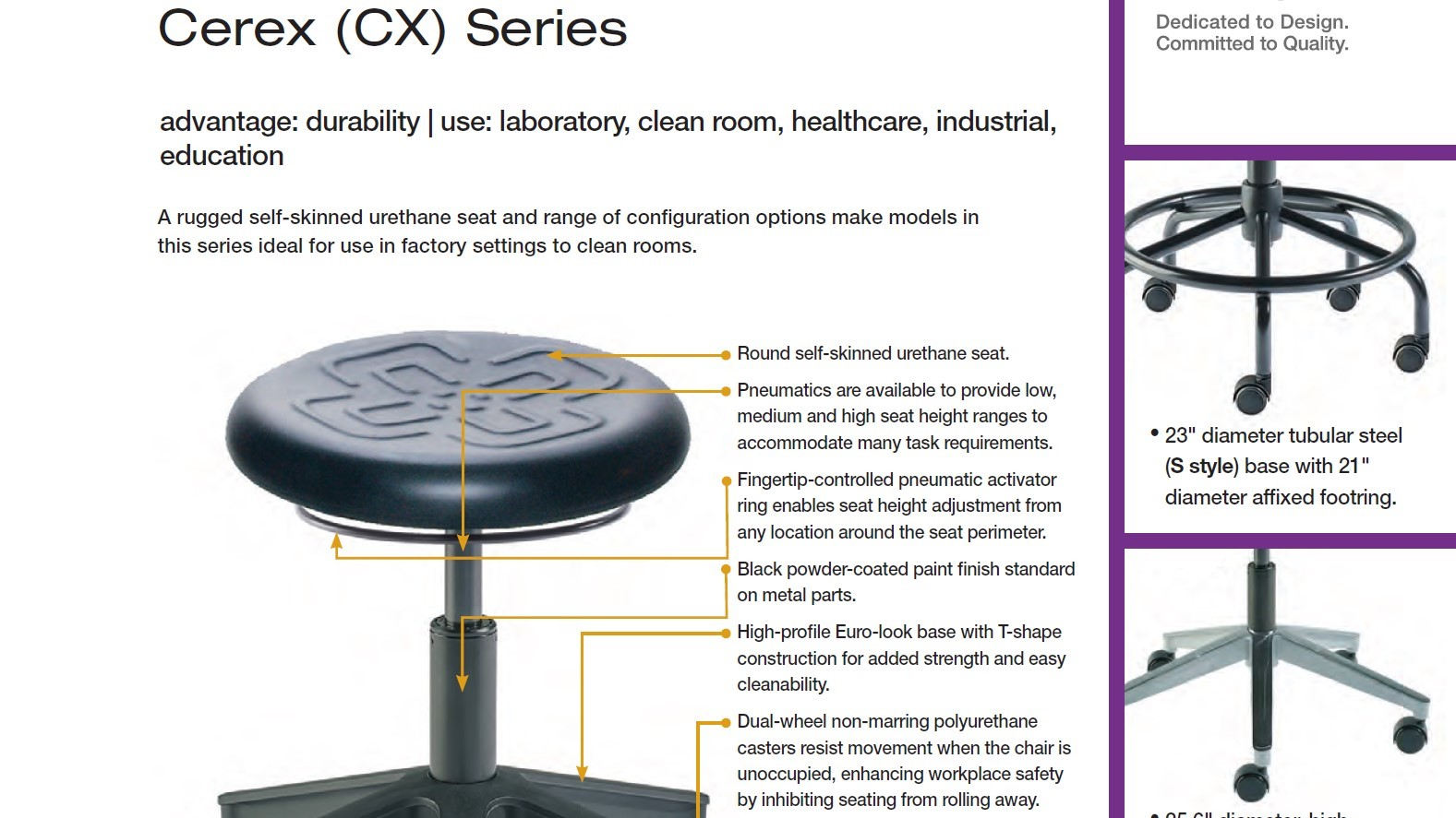Brochure-Biofit Cerex Stool