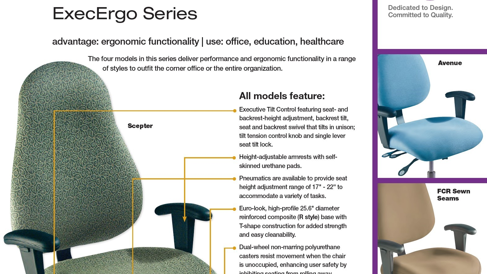 Brochure-Biofit ExecErgo Seating