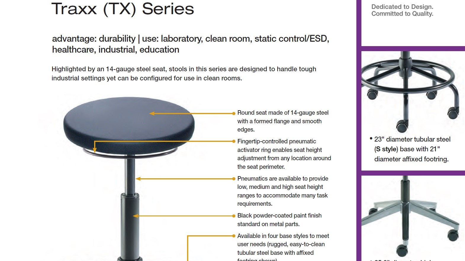 Brochure-Biofit-Traxx Stool Series