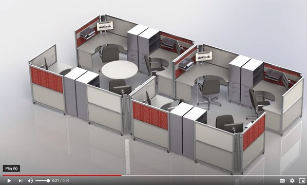Video-Swiftspace-Flexible Furniture College Test