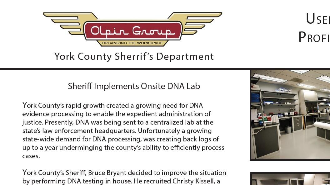 Case Study-NY County Sheriff DNA