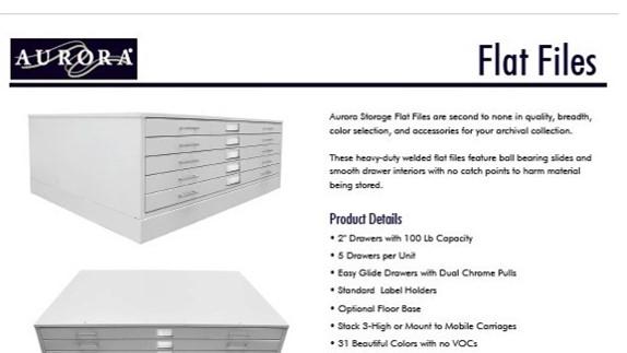 Brochure-Aurora-Flat File