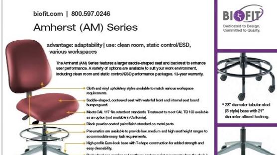 Brochure Image-Biofit-Amherst Series-2020 sheet