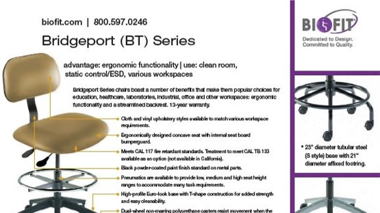 Brochure-Biofit-Bridgeport Series-2020 sheet