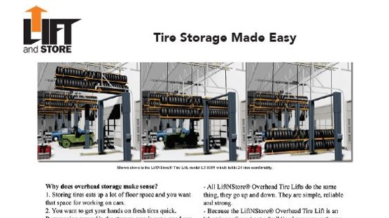 Brochure-LiftnStore-Commercial Tires Lift brochure