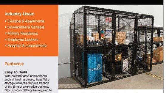 Brochure-Spaceguard-Wire Storage Lockers