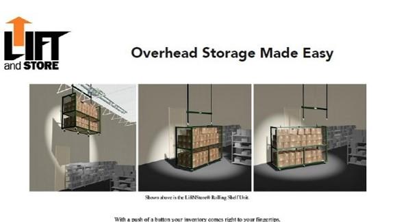 Brochure-Overhead Cart Storage