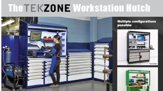 Brochure-Rousseau-TekZone Workstation Hutch