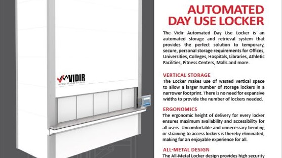 Brochure-Vidir-Automated Day Use Locker